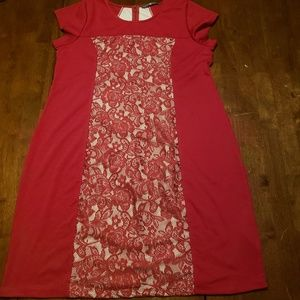 Valentine's Day Cocktail Dress 1x